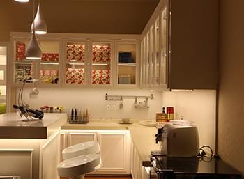 思奥特照明灯具-展厅-橱柜区