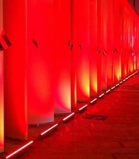 在迪拜中心的照明工程项目案例