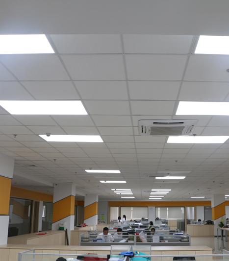 联明家用制品(深圳)有限公司新厂房照明节能工程
